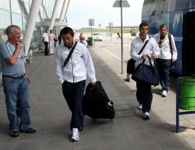 Левски се прибра в България