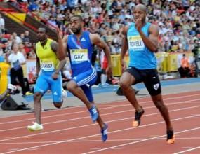Тайсън Гей спечели старта на 100 метра на Диамантената лига в Гейтсхед