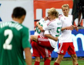 Тимонов игра 67 минути при загуба на Анжи от Локо М (видео)