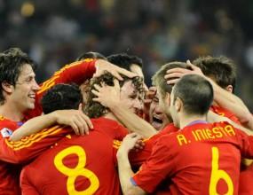 Готови са шампионските фланелки на Испания
