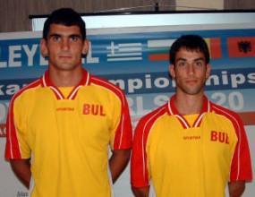 Делчо Раев и Златан Йорданов на световно първенство по плажен волейбол