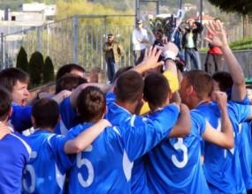 Детският тим на Левски с купа след успех над ЦСКА