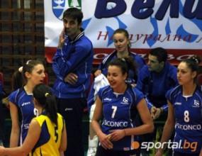 Волейболистките на Левски-Сиконко направиха само 27 точки за цял мач