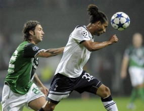 Тотнъм изпусна Вердер в дебюта си в Шампионската лига (видео)
