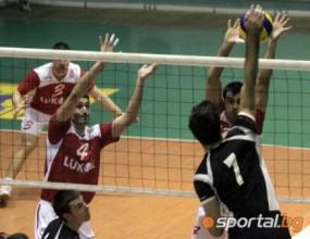 Волейболният Славия с подмладен отбор