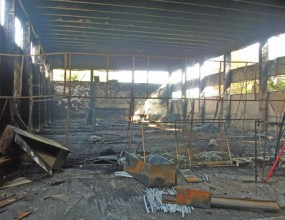 Повдигат обвинение за палеж по непредпазливост за залата в Ботевград