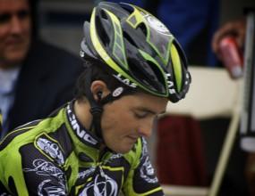 Испански колоездач със спрени права