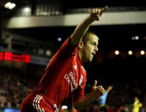 Ливърпул с пета поредна победа в Европа, Джо Коул с първи гол (видео)