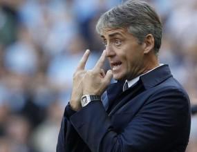Манчини: Този гол бе важен за Давид Силва
