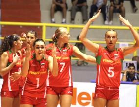 Волейболистките измъчиха Италия с 1:3 за Гран При