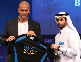 Зидан посланик на Катар в кандидатурата на Мондиал 2022