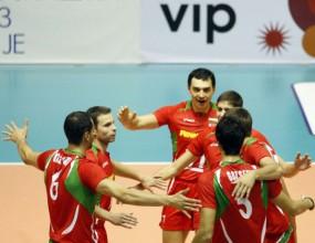 Мизерия посрещна волейболните национали