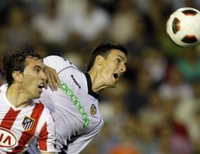 Адурис донесе точка на Валенсия срещу Атлетико (Мадрид) (видео)