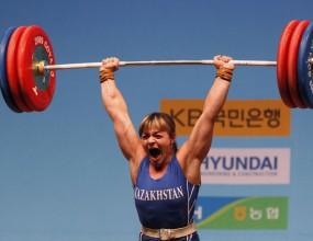 Казахстанка взе златен медал на Световното първенство по вдигане на тежести