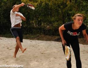Стефанова и Кирилов спечелиха титлата на Банкя къп 2 по плажен тенис