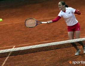 Маги се завърна в тениса с трудна победа