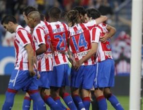 Атлетико заздрави защитата и тръгна нагоре