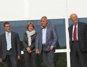 Бойко Борисов: Националната спортна зала ще бъде готова през юни 2011-а (видео)