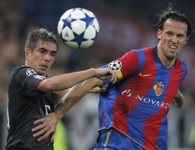 Байерн се измъчи, но удари Базел в последната минута
