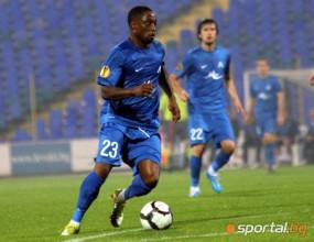 Андвеле Слори поднови тренировки с Левски