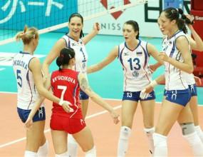 Русия продължава с победите на СП по волейбол за жени