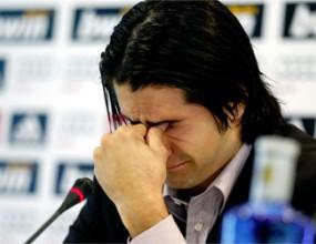 Де ла Ред се сбогува с футбола просълзен и благодарен на Реал М (видео)
