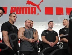 Puma ще облича националния отбор по културизъм