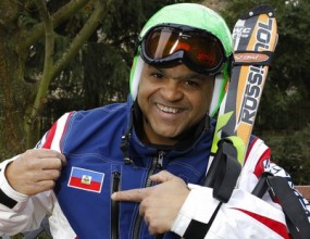 Дядо от Хаити е най- екзотичният скиор