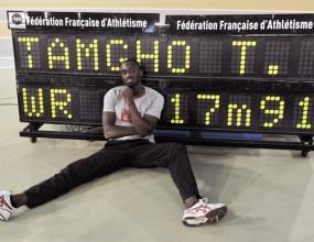 Летящ Тамго подобри световния рекорд в тройния скок