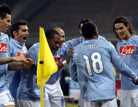 Мъчно 1:0 зарадва Неапол преди гостуването на Милан (видео)