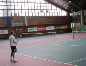 Тенисистите ни с първа тренировка преди сблъсъка с Беларус