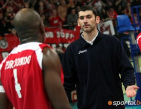 Сашо Попов играе в последния полуфинал на ЦСКА в Европа