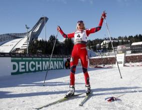 Злато и сребро за Норвегия в ски-бягането за жени на 30 км