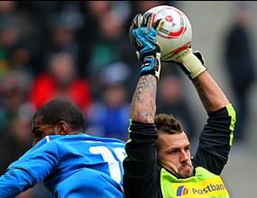 Борусия (М) продължава борбата след 2:0 над Хофе