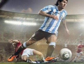 Даскал по физическо дубльор на Лео Меси в реклама
