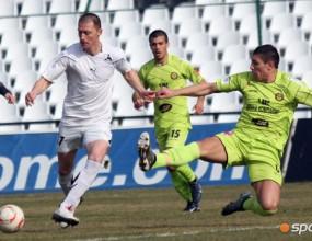 Футболистите на Славия изживяват повторно мъката с Миньор