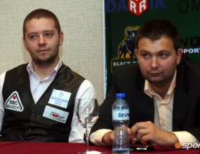 Кръстев и Величков отново бият на ЕП по снукър (видео)