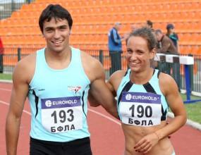 Медалисти от първия ден на ДИП за мъже и жени