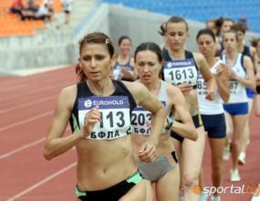 Даниела Йорданова спечели титлата на 5000 м