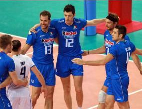Италия измъкна трудно 3:2 над Република Корея