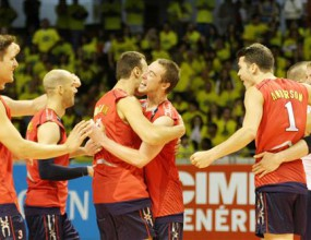 САЩ нанесе първа загуба на световните шампиони от Бразилия