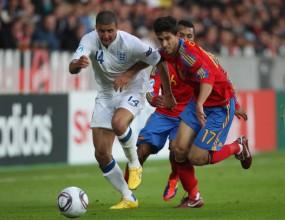 Скандални голове поделиха точките между фаворитите на Евро 2011 (видео)