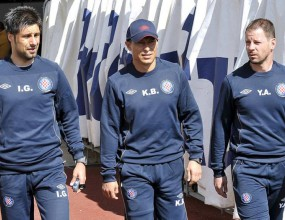 Объркаха Бала с футболист на първата тренировка на Хайдук