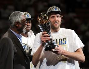 Дирк Новицки - MVP на финалите в НБА (видео)