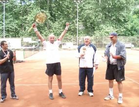 Дъжд отложи финала при мъжете над 45 г. на турнира в Плевен
