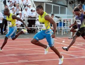 Тренировъчните партньори на Болт с резултати под 10,00 сек на 100 м