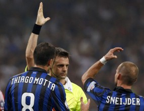 Интер без Ето`о срещу Юве и Милан