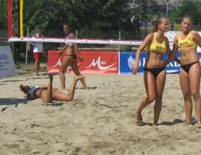 """Българките в Група """"B"""" без спечелен гейм на Балканиадата по плажен волейбол"""
