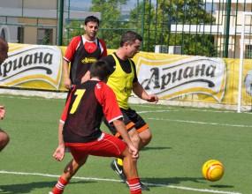 Футболни звезди откриха Ариана Аматьорска Лига в Шумен