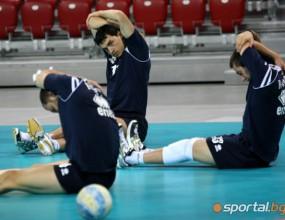 Здрави тренировки за волейнационалите преди мача със Сърбия